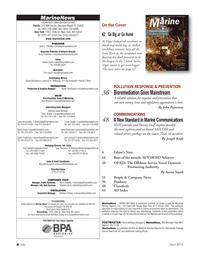 Marine News Magazine, page 4,  Apr 2014 Nicole Ventimiglia