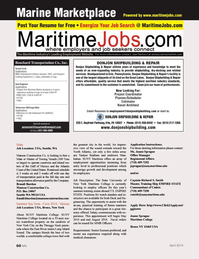 Marine News Magazine, page 60,  Apr 2014 Washington