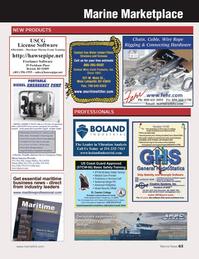 Marine News Magazine, page 63,  Apr 2014 netFreelance Software
