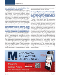 Marine News Magazine, page 16,  May 2014 DNV