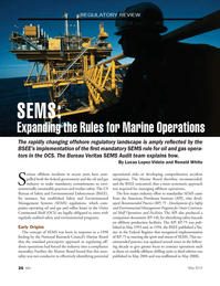 Marine News Magazine, page 26,  May 2014