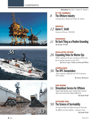 Marine News Magazine, page 2,  May 2014 Streamlined Service for Offshore Signal