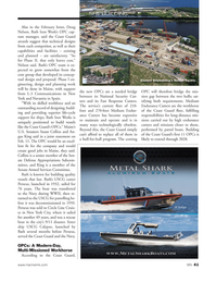 Marine News Magazine, page 41,  May 2014 L-3 Communications