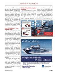 Marine News Magazine, page 45,  May 2014 machinery space