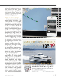 Marine News Magazine, page 51,  May 2014 remote monitoring solution