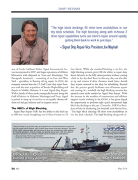 Marine News Magazine, page 54,  May 2014 Joe Mayhall May