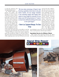 Marine News Magazine, page 56,  May 2014 minor steel work