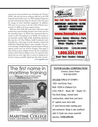 Marine News Magazine, page 57,  May 2014 Gulf coast