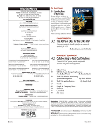 Marine News Magazine, page 4,  May 2014 Frank Covella