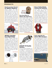 Marine News Magazine, page 70,  May 2014 oil condition