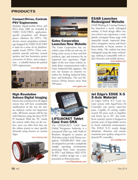 Marine News Magazine, page 72,  May 2014 Ethernet