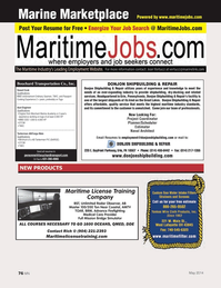 Marine News Magazine, page 76,  May 2014