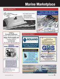 Marine News Magazine, page 79,  May 2014 Freelance Software