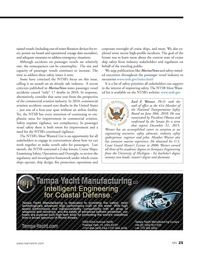Marine News Magazine, page 25,  Jun 2014 Senate