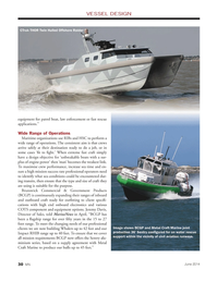 Marine News Magazine, page 30,  Jun 2014 high end onboard electronics