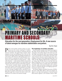 Marine News Magazine, page 42,  Jun 2014 Metropolitan Vocational High School