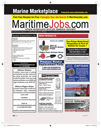 Marine News Magazine, page 60,  Jul 2014 Port of Mobile