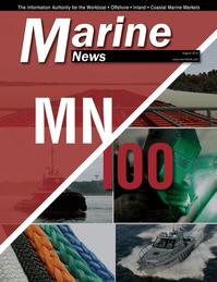 Marine News Magazine Cover Aug 2014 - MN 100 Market Leaders