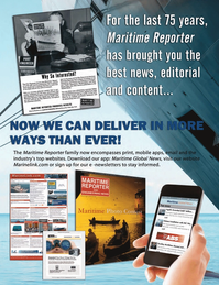Marine News Magazine, page 11,  Aug 2014