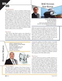 Marine News Magazine, page 14,  Aug 2014