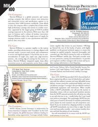 Marine News Magazine, page 54,  Aug 2014