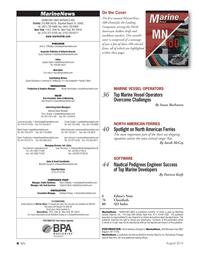 Marine News Magazine, page 4,  Aug 2014
