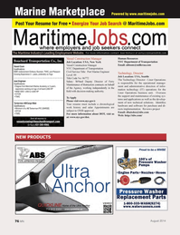 Marine News Magazine, page 76,  Aug 2014