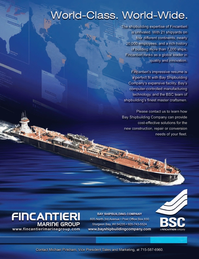 Marine News Magazine, page 3rd Cover,  Sep 2014