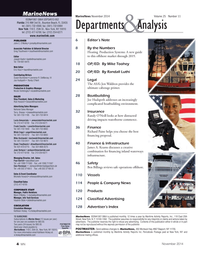Marine News Magazine, page 4,  Nov 2014