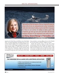 Marine News Magazine, page 68,  Nov 2014