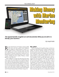 Marine News Magazine, page 36,  Dec 2014
