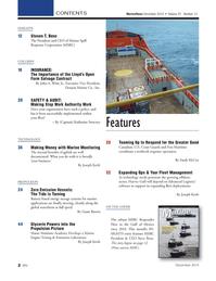 Marine News Magazine, page 2,  Dec 2014