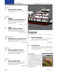 Marine News Magazine, page 2,  Feb 2015