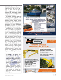Marine News Magazine, page 27,  May 2015