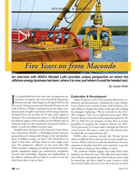 Marine News Magazine, page 38,  May 2015