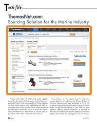 Marine News Magazine, page 48,  May 2015
