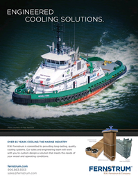 Marine News Magazine, page 4th Cover,  Aug 2015