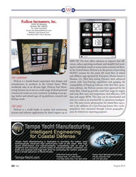 Marine News Magazine, page 30,  Aug 2015