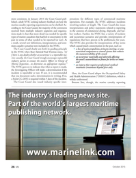 Marine News Magazine, page 26,  Oct 2015