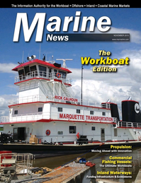 Marine News Magazine Cover Nov 2015 - Workboat Annual