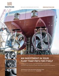 Marine News Magazine, page 2nd Cover,  Nov 2015