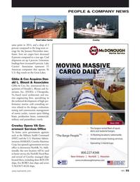 Marine News Magazine, page 55,  Jan 2016