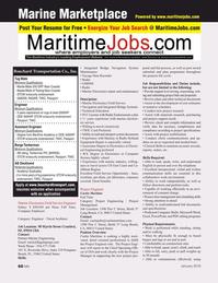 Marine News Magazine, page 60,  Jan 2016