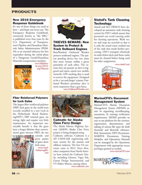 Marine News Magazine, page 58,  Feb 2016