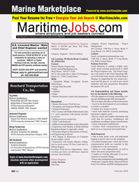 Marine News Magazine, page 60,  Feb 2016