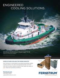 Marine News Magazine, page 4th Cover,  Apr 2016