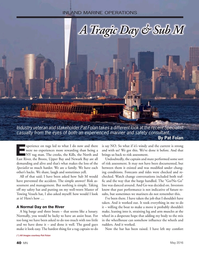 Marine News Magazine, page 40,  May 2016