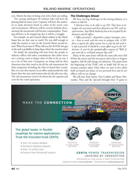 Marine News Magazine, page 44,  May 2016