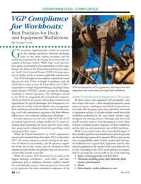 Marine News Magazine, page 54,  May 2016