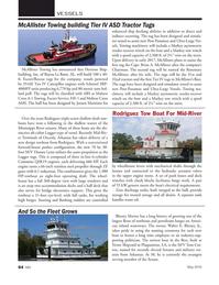 Marine News Magazine, page 64,  May 2016